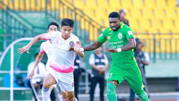 Nsi đã quay ngoắt lại với Cần Thơ sau khi bầu Đại về Sài Gòn FC.Ảnh: Internet