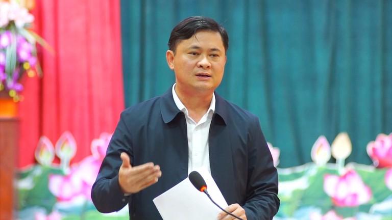 Bí thư Tỉnh ủy, Chủ tịch UBND tỉnh Thái Thanh Quý làm việc với Báo Nghệ An