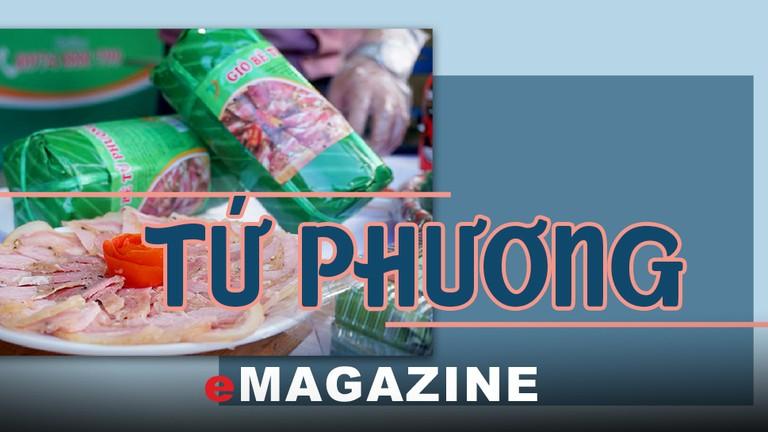 Đặc sản nức tiếng xứ Nghệ mang thương hiệu 'Tứ Phương'