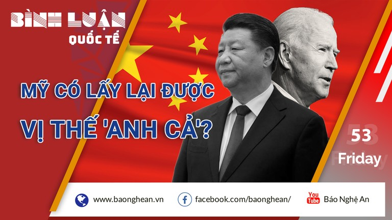 Vị thế 'anh cả' của Mỹ bị đe dọa bởi Trung Quốc