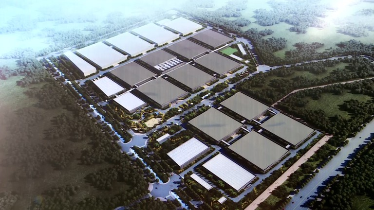 Khởi công nhà máy 100 triệu USD, giải quyết việc làm cho khoảng 3 vạn lao động