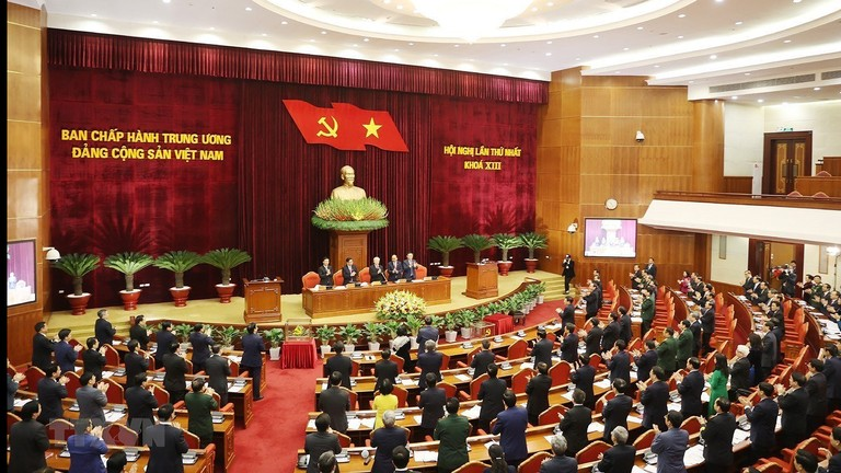 Hội nghị lần thứ nhất Ban Chấp hành Trung ương Đảng khóa XIII