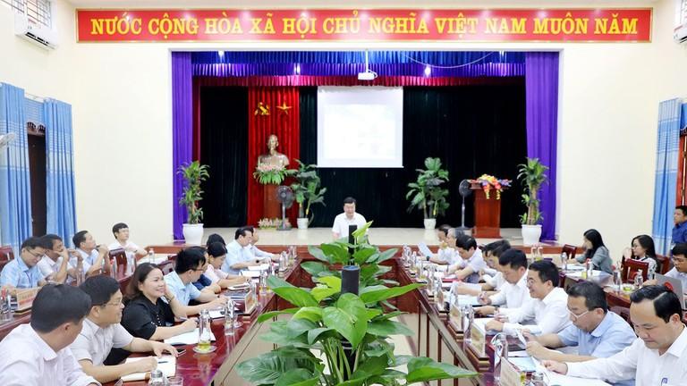 Video: Chủ tịch UBND tỉnh Nguyễn Đức Trung thăm, làm việc tại huyện Thanh Chương