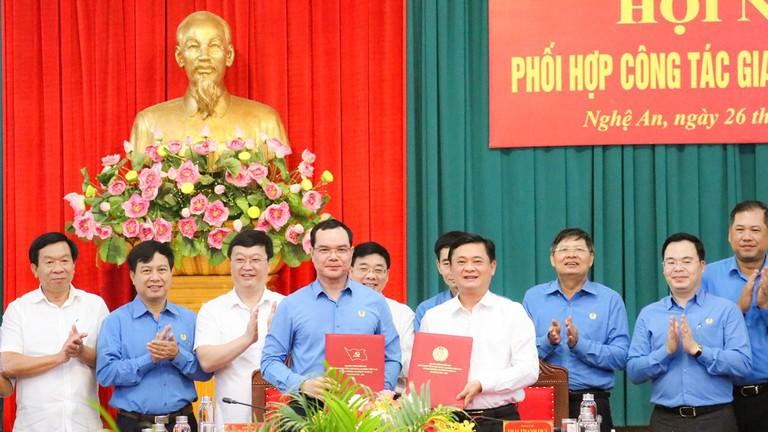 Sẽ đầu tư xây dựng thiết chế công đoàn tại Nghệ An