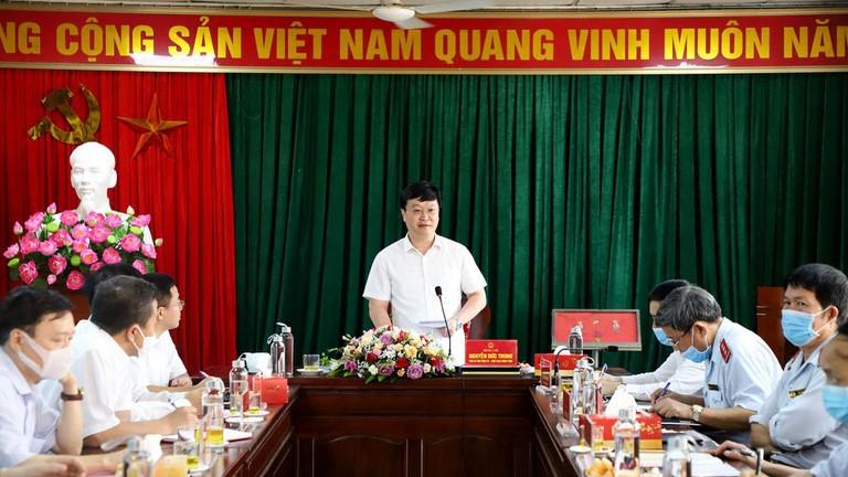 Video: Chủ tịch UBND tỉnh Nguyễn Đức Trung làm việc với Thanh tra tỉnh