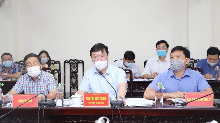 Chủ tịch UBND tỉnh Nghệ An tiếp công dân, giải quyết kiến nghị quyền lợi về tiền lương, BHXH