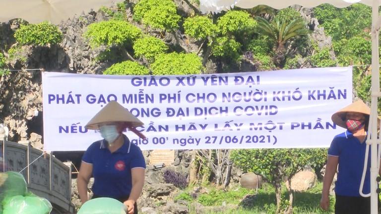 Nghệ An: Các cơ sở tôn giáo đồng hành phòng chống dịch Covid-19