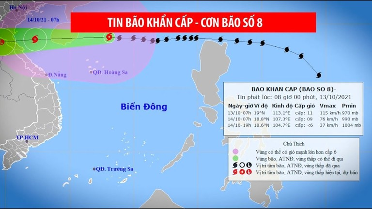 Video: Nghệ An khẩn trương triển khai ứng phó bão số 8