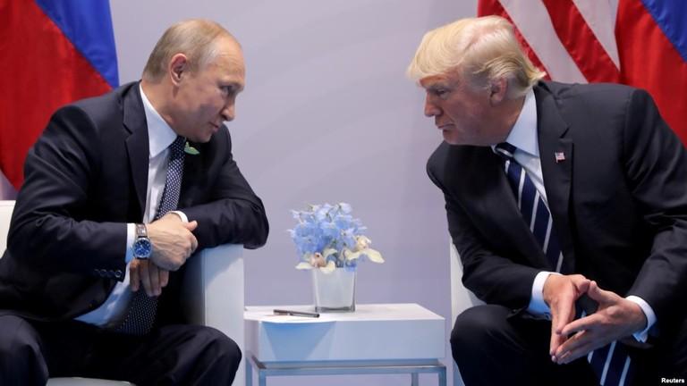 Nhìn lại mối quan hệ giữa Trump và Putin