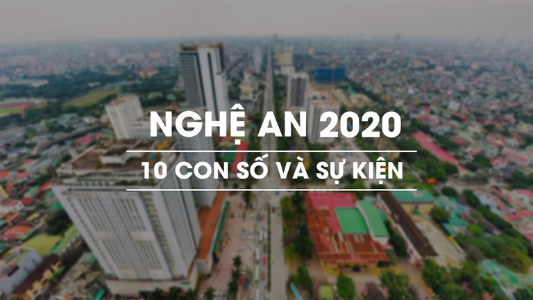 Nghệ An: Con số & Sự kiện 2020