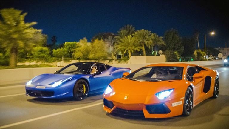 Đường phố tràn ngập siêu xe ở Qatar