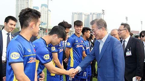 Bóng đá vun đắp tình hữu nghị Việt Nam và Hàn Quốc