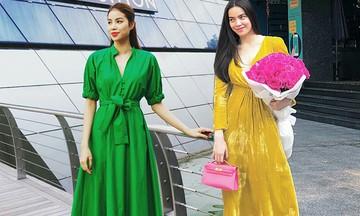 """Sao Việt """"rủ nhau"""" diện trang phục rực rỡ sắc màu chào hè"""