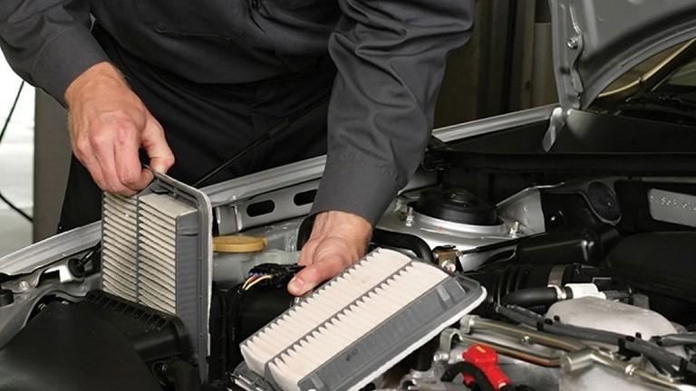 4 bộ lọc cần vệ sinh, thay thế định kỳ trên ô tô