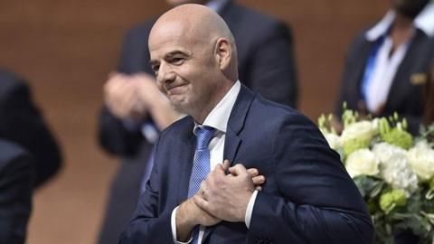 Hôm nay, Chủ tịch FIFA đến Hà Nội