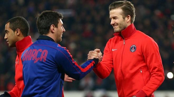 Beckham tính chơi lớn, đưa Messi đến đá bóng ở Mỹ