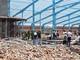 Sập công trình xưởng may, 6 người chết