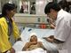 Bé trai bị chó cắn mất 2 tai đang được theo dõi chấn thương sọ não