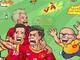 Những tuyệt phẩm Asiad 2018 của Olympic Việt Nam qua bức vẽ sinh động
