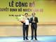 Nguyên Giám đốc Bưu điện Nghệ An được bổ nhiệm Tổng GĐ Tổng công ty Bưu điện Việt Nam