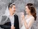 Bộ ảnh cưới hài hước của 'cô Đẩu' Công Lý với vợ kém 15 tuổi