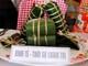 Sôi nổi cuộc thi gói bánh chưng, bánh ngào ở Báo Nghệ An