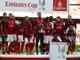 Thua Sevilla, Arsenal vẫn vô địch Emirates Cup