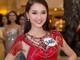 Hotgirl Nghệ An nổi bật tại họp báo Hoa hậu hoàn vũ