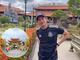 Huy Khánh hé lộ hình ảnh đặc biệt khi tới thăm nhà thờ Tổ trăm tỷ của Hoài Linh
