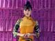 Hoa hậu Tiểu Vy đẹp 'hút hồn' trong trang phục áo dài đa sắc lấy ý tưởng từ bài chòi