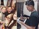 Văn Lâm được bạn gái và gia đình mừng sinh nhật từ xa