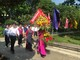 Đoàn đại biểu huyện Nghĩa Đàn dâng hương tại Khu Di tích Kim Liên