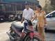 Nhận lại xe máy sau 8 năm bị mất cắp