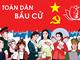 Nghệ An được bầu 13 đại biểu Quốc hội tại 5 đơn vị bầu cử