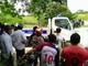 Bé gái 16 tháng tuổi ở Hà Tĩnh tử vong khi chui xuống gầm xe trộn bê tông