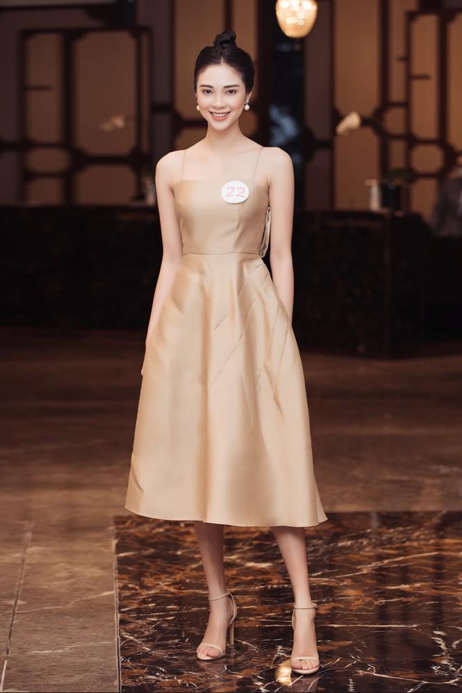 Sắc vóc đẹp hút hồn của các người đẹp xứ Nghệ lọt Bán kết Hoa hậu Việt Nam 2020 - ảnh 5