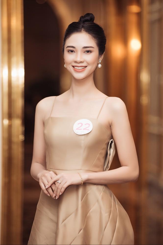 Sắc vóc đẹp hút hồn của các người đẹp xứ Nghệ lọt Bán kết Hoa hậu Việt Nam 2020 - ảnh 4