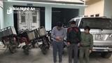 Nghệ An: Dùng ô tô đi trộm chó, ném bom xăng khi bị truy đuổi