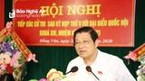 Trưởng Ban Nội chính Trung ương: Cần giải quyết dứt điểm những tồn tại ở dự án Thủy điện Hủa Na