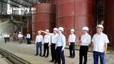 Chủ tịch UBND tỉnh Nguyễn Đức Trung kiểm tra tiến độ dự án tại huyện Nghi Lộc