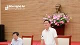 Chủ tịch UBND tỉnh yêu cầu kịp thời tháo gỡ khó khăn, cải thiện chỉ số sản xuất công nghiệp