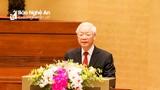 Tổng Bí thư Nguyễn Phú Trọng yêu cầu tạo dấu ấn rõ rệt về xây dựng văn hóa Đảng