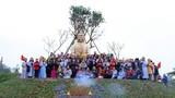 Lễ cung nghinh đón tượng Phật an tọa tại chùa Đức Hậu