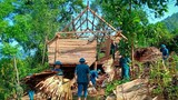 Gần 250 ngôi nhà ở Nghệ An bị tốc mái sau trận lốc xoáy kéo dài 15 phút