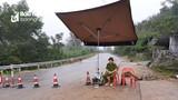 Rú Nguộc tiếp tục sạt lở, Quốc lộ 46 qua Thanh Chương bị cấm xe