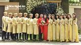 Xuân Mạnh, Tuấn Tài rạng rỡ trong ngày đính hôn của cựu đội trưởng SLNA