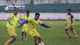 Chùm ảnh SLNA tập luyện chuẩn bị cho V.League 2019