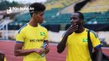 Thử chân ngoại binh, SLNA thi đấu giao lưu đội bóng mạnh Hàn Quốc