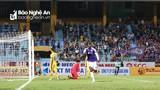 Sông Lam Nghệ An thất bại 0-4 trước Hà Nội tại Hàng Đẫy