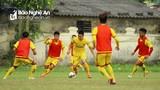 Hồ Phúc Tịnh ghi bàn, Sông Lam Nghệ An thắng giao hữu U19 SLNA